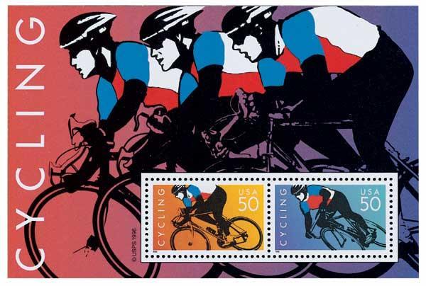 1996 50c Cycling