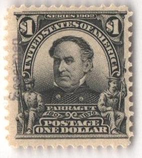 1902 $1 black