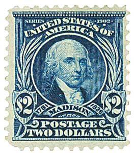 1903 $2 Madison, dark blue