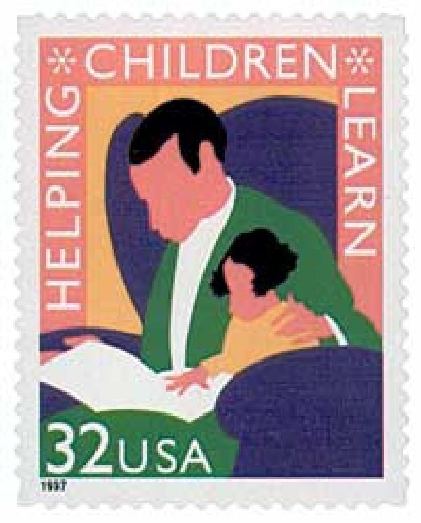 1997 32c Helping Children Learn