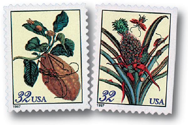 1997 32c Merian Botanicals