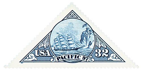 1997 32c Ship