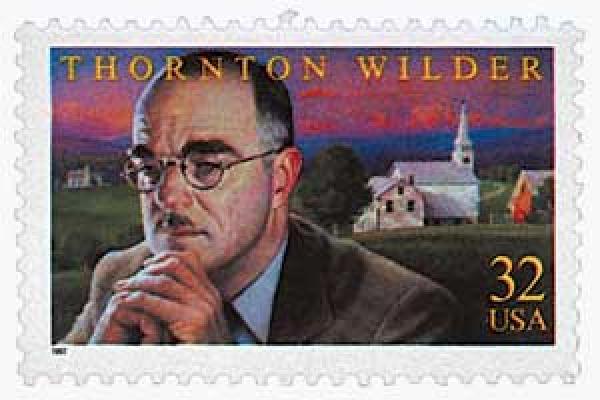 1997 32c Literary Arts: Thornton Wilder