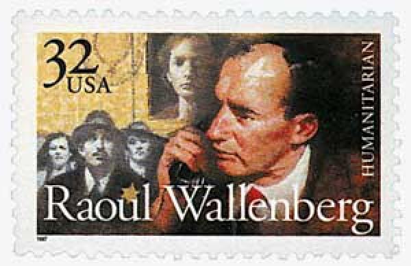 1997 32c Raoul Wallenberg