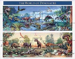1997 32c Dinosaurs