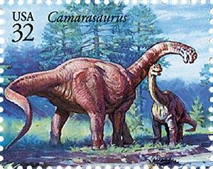 1997 32c Dinosaurs: Camarasaurus