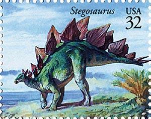 1997 32c Dinosaurs: Stegosaurus