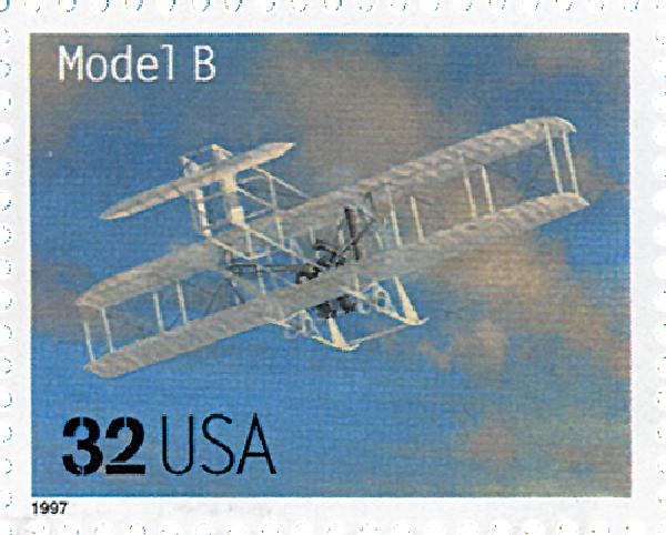 1997 32c Classic American Aircraft: Model B
