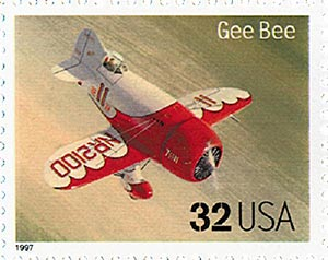 1997 32c Classic American Aircraft: Gee Bee