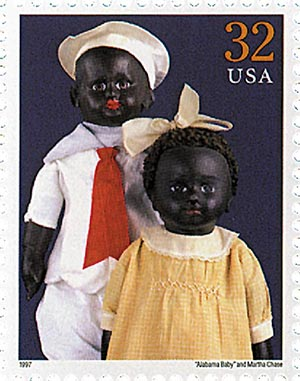 1997 32c 'Alabama Baby'& doll by M.Chase