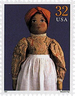 "1997 32c Classic American Dolls: ""Babyland Rag"""