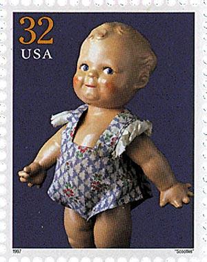 1997 32c 'Scootles'