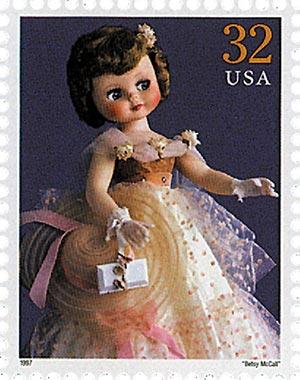 "1997 32c Classic American Dolls: ""Betsy McCall"""