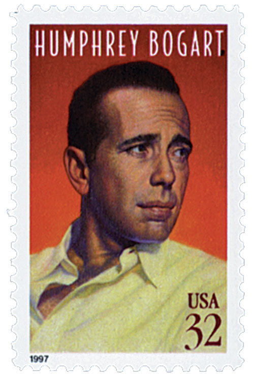 1997 32c Legends of Hollywood: Humphrey Bogart