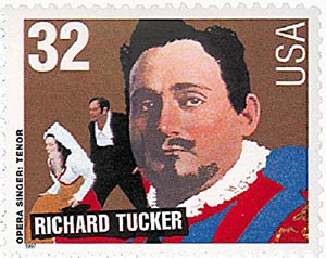 1997 32c Opera Singers: Richard Tucker