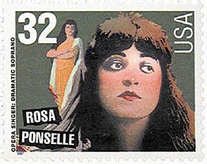 1997 32c Opera Singers: Rosa Ponselle