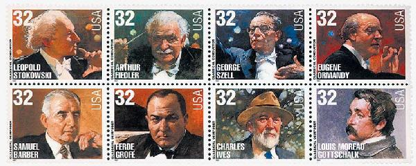 1997 32c Conductors and Composers