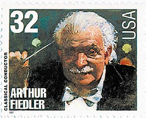1997 32c Conductors and Composers: Arthur Fiedler, Conductor