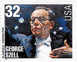 1997 32c Conductors and Composers: George Szell, Conductor