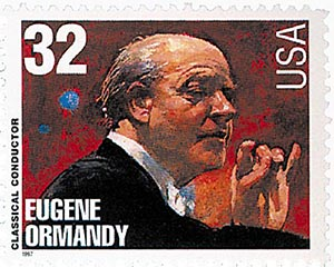1997 32c Conductors and Composers: Eugene Ormandy, Conductor