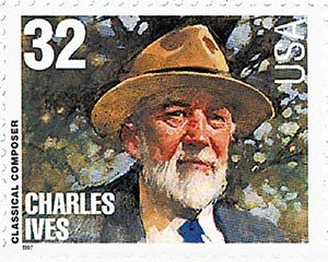 1997 32c Conductors and Composers: Charles Ives, Composer