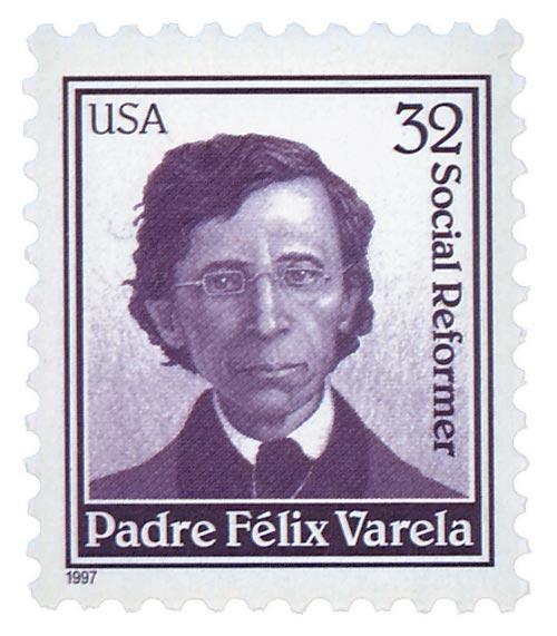 1997 32c Padre Felix Varela