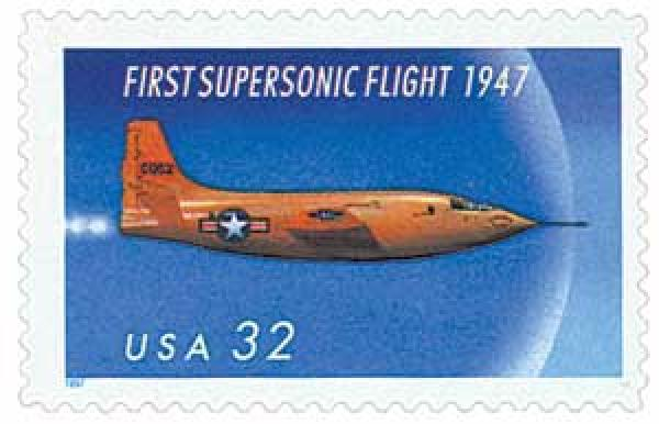 1997 32c First Supersonic Flight