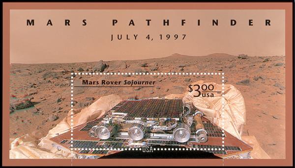 1997 $3 Mars Pathfinder