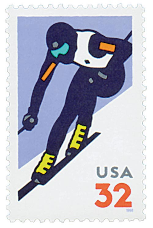 1998 32c Alpine Skiing