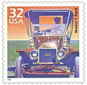 1998 32c Celebrate the Century - 1900s: Model T Ford
