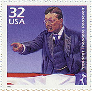 1998 32c Celebrate the Century - 1900s: Theodore Roosevelt