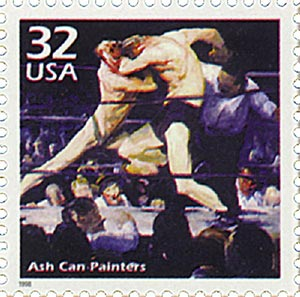 1998 32c Celebrate the Century - 1900s: Ash Can Painters
