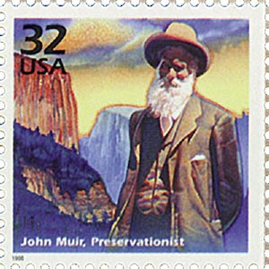 1998 32c Celebrate the Century - 1900s:  John Muir, Preservationist