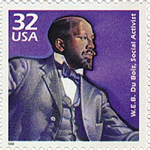 1998 32c Celebrate the Century - 1900s: W.E.B. DuBois