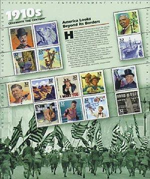 1998 32c Celebrate the Century: 1910s