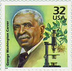 1998 32c Celebrate the Century - 1910s: George Washington Carver