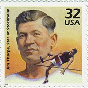 1998 32c Celebrate the Century - 1910s: Jim Thorpe
