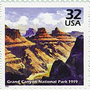1998 32c Celebrate the Century - 1910s: Grand Canyon