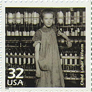 1998 32c Celebrate the Century - 1910s: Child Labor Reforms