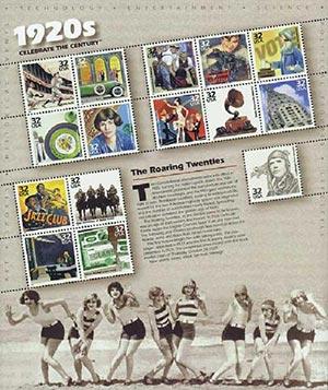 1998 32c Celebrate the Century: 1920s