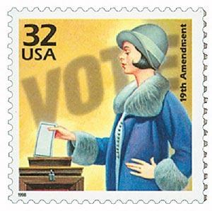 1998 32c Celebrate the Century - 1920s: 19th Amendment