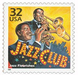 1998 32c Celebrate the Century - 1920s: Jazz