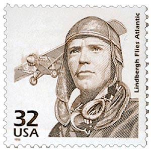 1998 32c Celebrate the Century - 1920s: Lindbergh