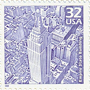 1998 32c Celebrate the Century - 1930s: Empire State Building