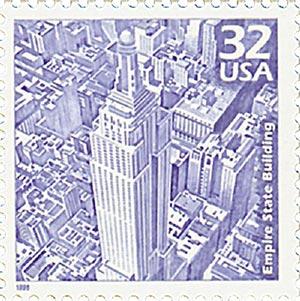 1998 32c Celebrate the Century - 1930s: Empire State Building