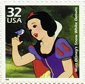 "1998 32c Celebrate the Century - 1930s: Disneys ""Snow White"" Debuts"