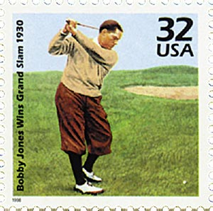 1998 32c Celebrate the Century - 1930s: Bobby Jones Grand Slam