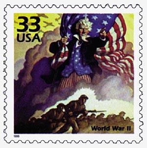 1999 33c Celebrate the Century - 1940s: World War II