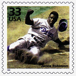 1999 33c Celebrate the Century - 1940s: Jackie Robinson