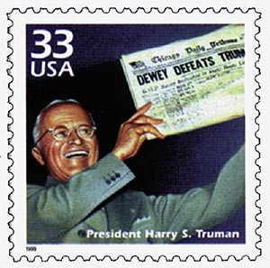1999 33c Celebrate the Century - 1940s: President Harry S. Truman